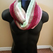 Easy Textured Circle Scarf pattern
