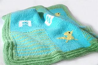 Ravelry: Chickie ABC Baby Blanket pattern by Authentic ...
