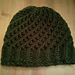 Modified Figure-8 Spiral Ribbed Hat pattern