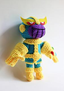 Thanos the Big Boss 😎 #amigurumilove #crochet #crochetthanos ... | 320x226