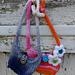 """Hobo Bag for 18"""" Doll pattern"""