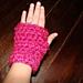 Super Bulky Fingerless Gloves pattern