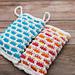 Woven Windows Soap Sack pattern