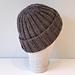 Rugged Man Hat pattern
