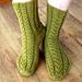 October socks pattern