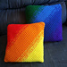 Rainbow Collection - Ombre Pillow Set pattern