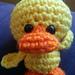 A Lil Ugly - a pocket size duck pattern
