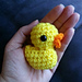 Lil Other Brother - a tiny duck pattern