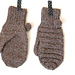I heart pompoms mittens pattern