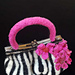 Amazing Grace Purse with Pretty Posies pattern