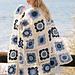 120-3 Seaside Blues  pattern