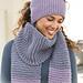 126-18 a - Purple Stitches Headband pattern