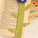 0-686 Book mark with flower at the top pattern
