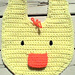 Duckie Bib pattern