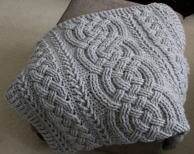 Knitting Pattern Aran Throw//Blanket /& Cushions 199