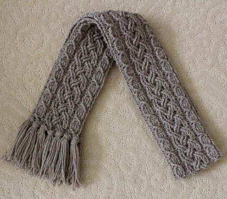 Crochet A Cable Scarf