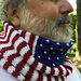 Protest is Patriotic Cowl pattern
