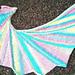 wing span shawl pattern