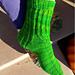 Lineal Socken pattern