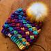 Harlequin Puff Stitch Hat pattern