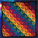 Rainbow Galaxy Blanket pattern