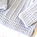 Simple baby textured sweater pattern