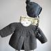 Baby Garter Stitch Jacket & Hat P103 pattern