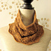 2 in 1 Vine Lace Cowl and Hat with Beads pattern