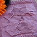 Halloween Cat Dishcloth pattern