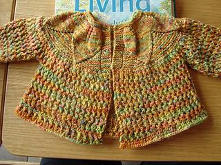 sweater with knittydirtygirl yarn