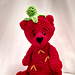 StrawBeary the Strawberry Bear pattern