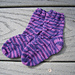 Baby Eyelet or Cable Socks pattern