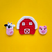 Cow, Pig and Farm Applique pattern