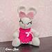 Olivia the Bunny Amigurumi pattern