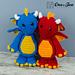 Felix the Baby Dragon pattern