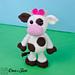 Doris the Cow Amigurumi pattern