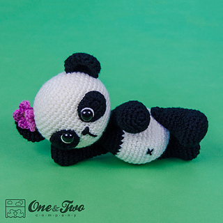 Boo the Panda Bear Free Crochet Pattern By Elisa's Crochet | 320x320