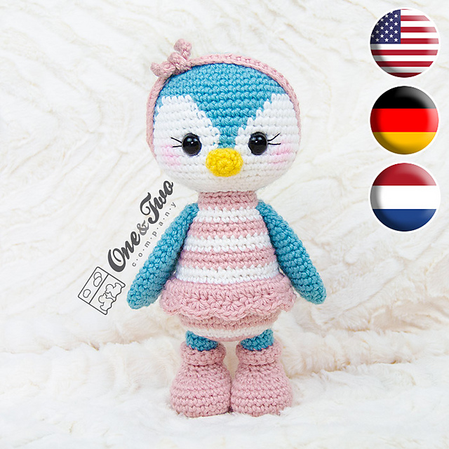 Penelope The Penguin: Free Crochet Penguin Amigurumi Pattern | | 640x640