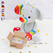 Hue the Rainbow Elephant pattern