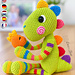 Chipper the Rainbow Dino pattern