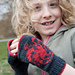 Game of Thrones: House Targaryen Mitts pattern