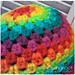 Rainbow Granny Hat pattern
