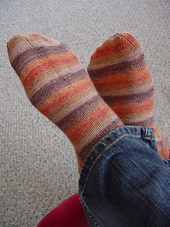 Davin's Socks Done!