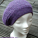 Lavender Beret - deutsch pattern