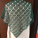 P23 geometric shawl(幾何学模様の三角ショール) pattern