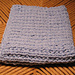 Broken Rib Washcloth pattern