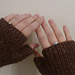 Rib Fingerless Gloves pattern