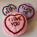 Sweet Love Hearts pattern