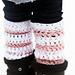 Easy Crochet Legwarmers pattern