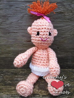 Ravelry: Daphne: Amigurumi doll pattern by MaryJ Handmade | 320x240